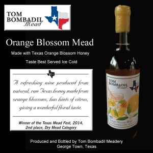 Orange Blossom Mead
